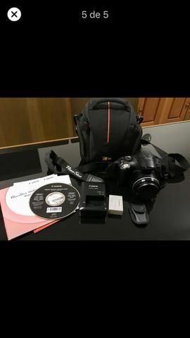 Camera Canon SX40 HS 12.1MP Semi-profissional - Foto 5