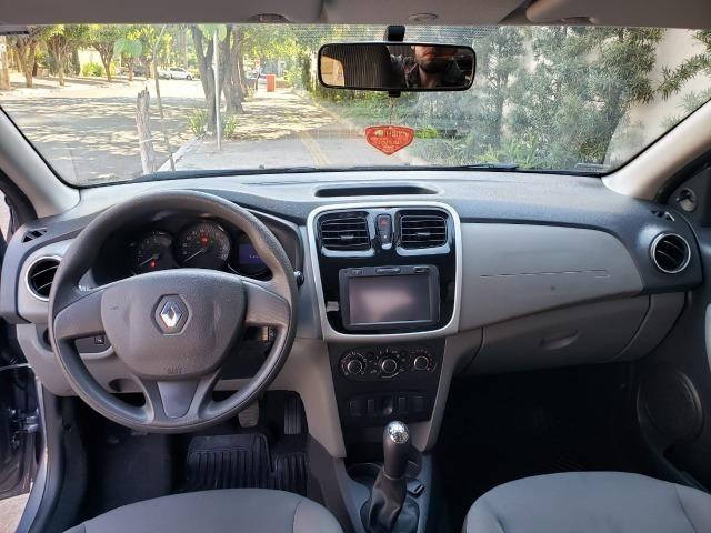 Renault Logan Expression 1.6 16/16 flex mec. cinza - Foto 9