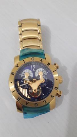 185a891f281 Relógio Bvlgari Automático Iron Man - Bijouterias
