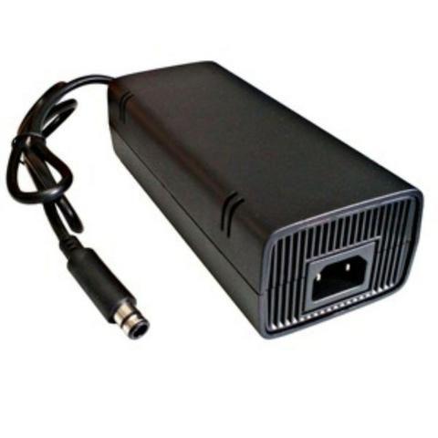 Vídeo Game Console Xbox X box 360 Original com Kinect 2 Manetes Controle Joystick 5 Jogos - Foto 3