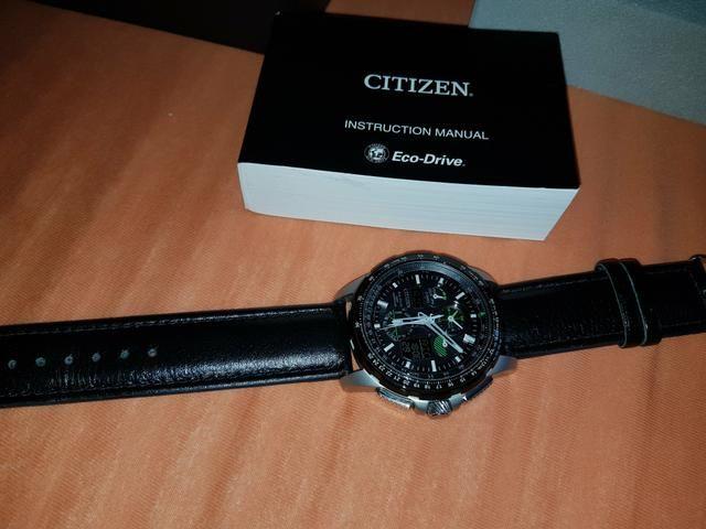 09fd477cebd Relógio Citizen Eco-Drive Skyhawk AT JY8051-08E