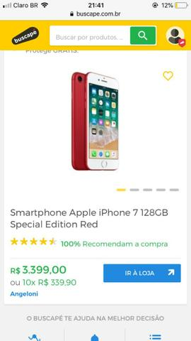 a9139b27e Iphone 7 RED 128gb