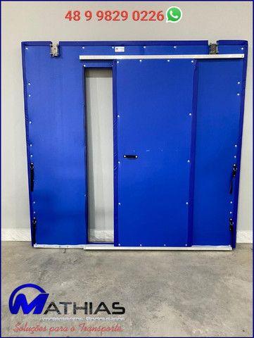 Divisoria movel para camaras refrigeradas Mathias Implementos - Foto 2