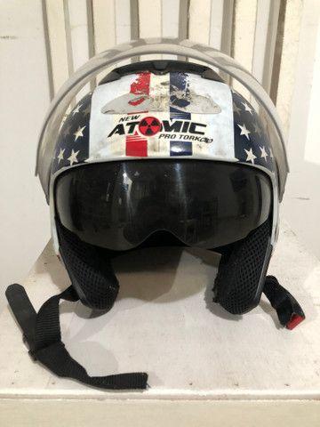 Capacete New Atomic Pro Tork Tam 60