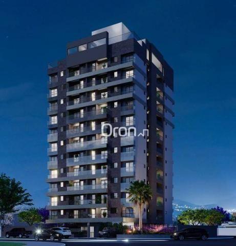 Apartamento com 2 dormitórios à venda, 59 m² por R$ 257.000,00 - Parque Amazônia - Goiânia - Foto 2