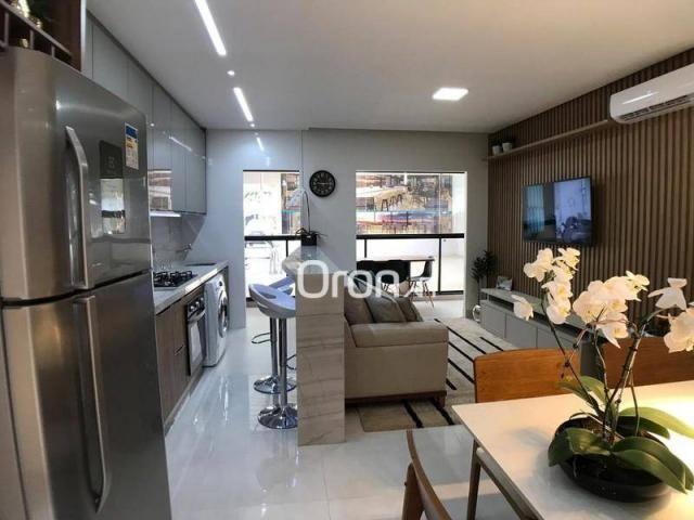 Apartamento com 2 dormitórios à venda, 59 m² por R$ 257.000,00 - Parque Amazônia - Goiânia - Foto 6