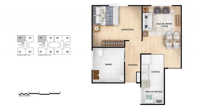 Apartamento para Venda em Rio de Janeiro, Braz de Pina, 2 dormitórios, 1 banheiro, 1 vaga - Foto 9