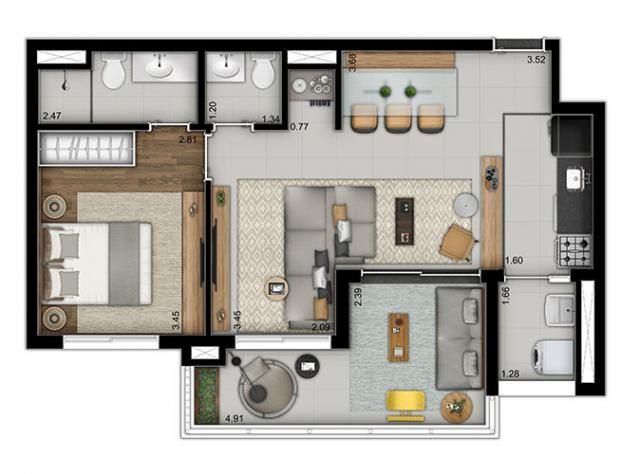 Elegante Apartamento em Vila Pompéia, com 3 dormitórios, sendo 1 suíte e área de 142 m² - Foto 16