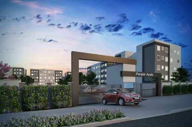 Parque Ayala - Apartamento de 2 dorms em Arapongas, PR - ID4073