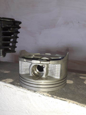 Pistão e cilindro  honda falcon nx400 - Foto 3