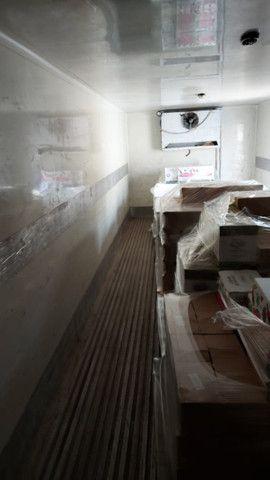 Baú refrigerado frigorifico para truck com aparelho - Foto 2