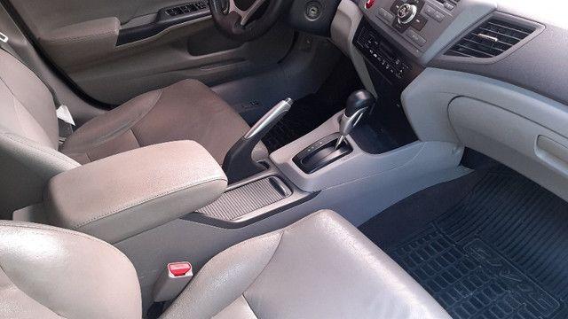 Civic LXR 2.0 autom, couro, borboleta, GNV 5ª ger, magnífico estado, vist 20 - Foto 10
