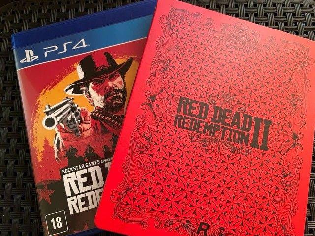 Red Dead Redemption 2 + Steelbook - PS4