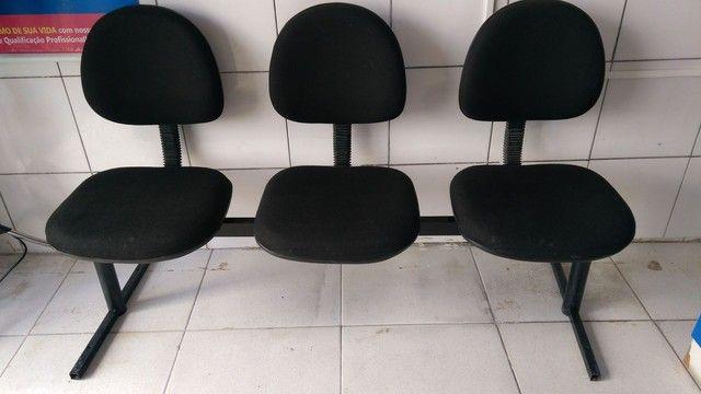 Cadeiras  Longarinas - Foto 3