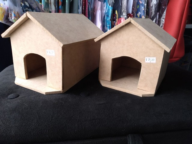 Casinha de madeira para hamsters - Foto 2