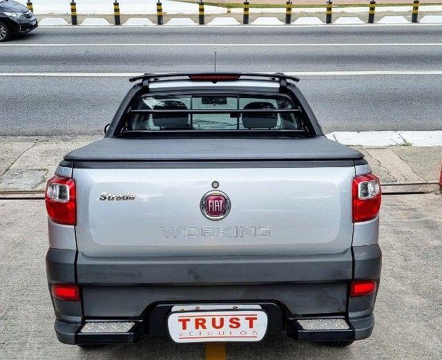 Fiat Strada C.Estendida 1.4 Hard Working 2017! Completa! Unico Dono! - Foto 5