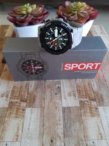Relógio smartwatch Lemfo K22 recebe e faz chamadas novo