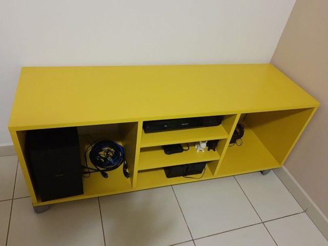 Rack amarelo da Tok Stok - Foto 2