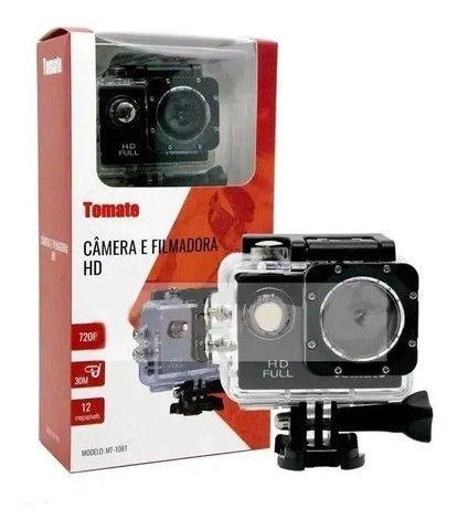Câmera sportiva Tomate MT-1081 4K preta<br><br><br>