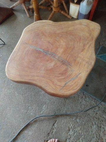 Mesa de madeira de jaqueira com ferro - Foto 3