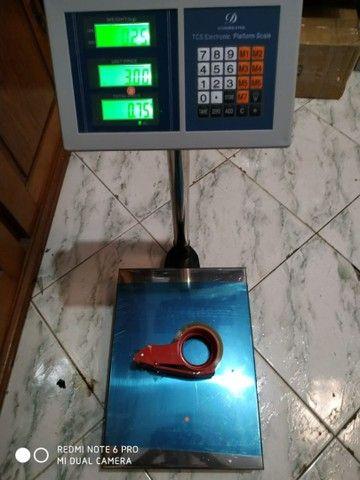 Balança Plataforma Eletrônica Digital 200kg