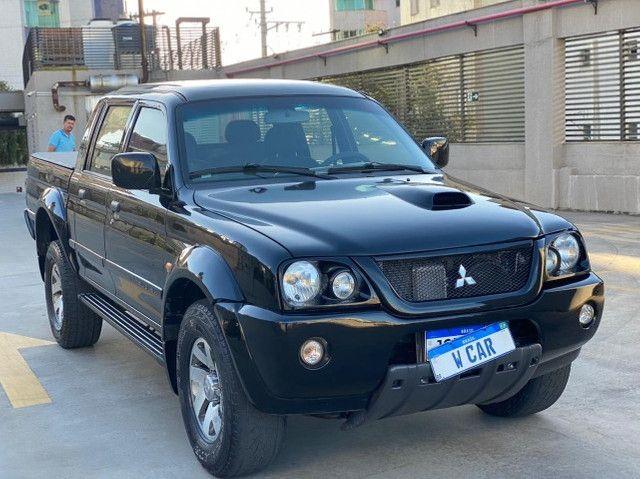 Mitusibishi L200 HPE Gls 4X4 Diesel Mec 2.5 - Foto 2