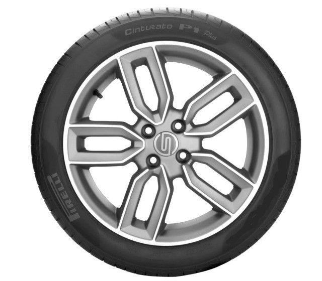 Pneu 195/55 R15 Pirelli Cinturato P1 Plus 85V Novo, original garantia - Foto 2
