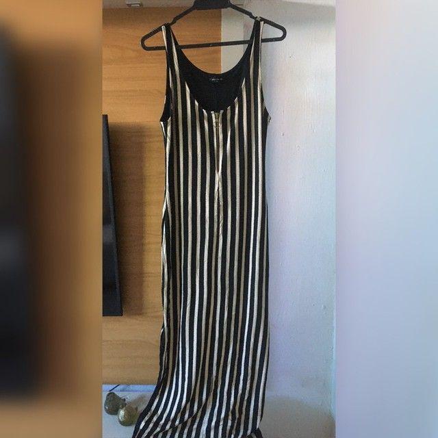 Vestido longo dudalina