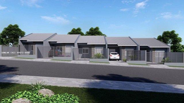 Casa para Venda em Ponta Grossa, Vila Hilgemberg, 2 dormitórios, 1 banheiro, 2 vagas - Foto 2