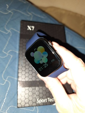 SmartWatch Iwo 14 X7 Atende ligação Entrego  - Foto 2
