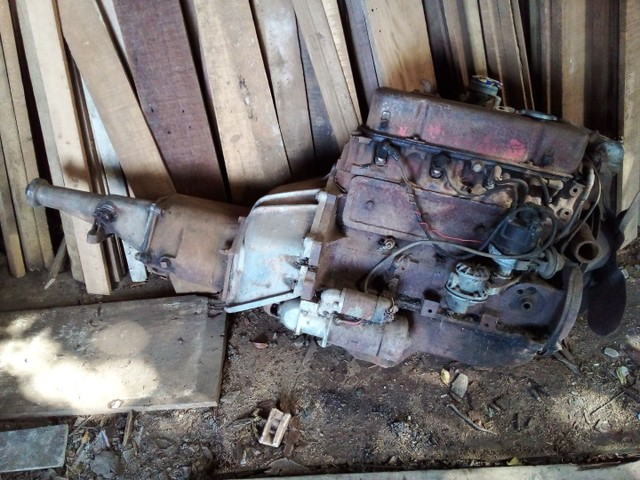 Motor e caixa Opala 4cc . - Foto 3