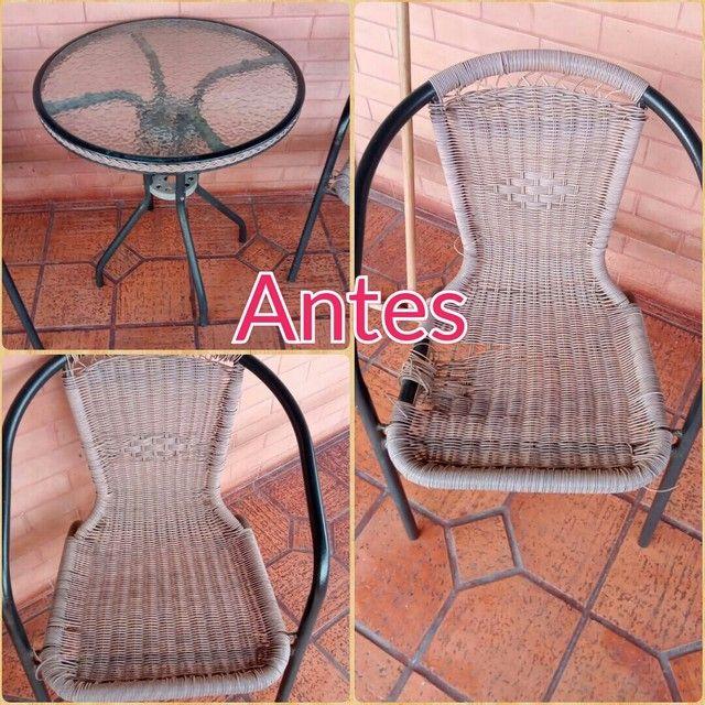 Cadeira de fibra ( reforma ) - Foto 3