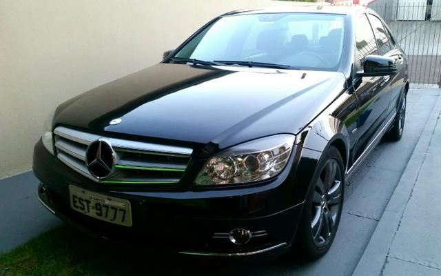 mercedes c200 kompressor avantgarde 2010 2010 carros. Black Bedroom Furniture Sets. Home Design Ideas