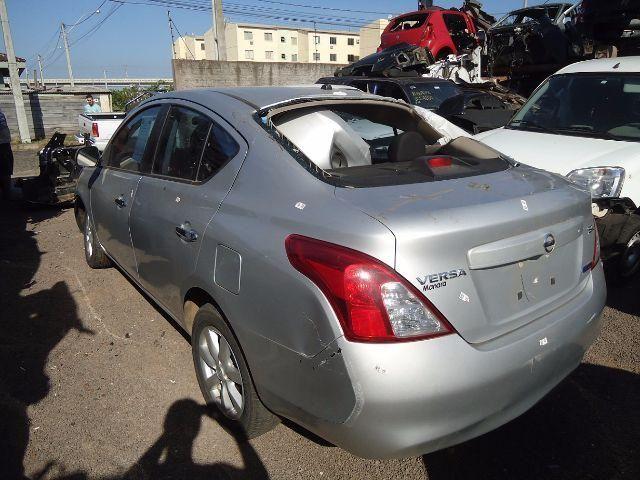 Peças usadas Nissan Versa 1.6 16v flex ano 2012 manual