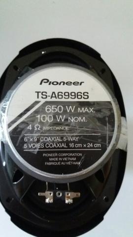 Auto falantes pioneer 6x9 550W 600W 650W 120 pares