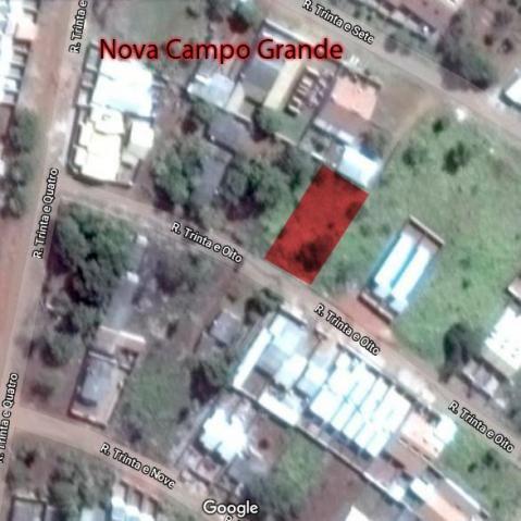 Terreno na Nova Campo Grande