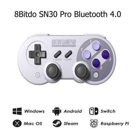 Controle Joystick 8Bitdo SN30 Pro