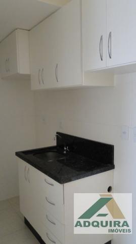 Apartamento  com 1 quarto no Edificio Vernon - Bairro Centro em Ponta Grossa - Foto 4