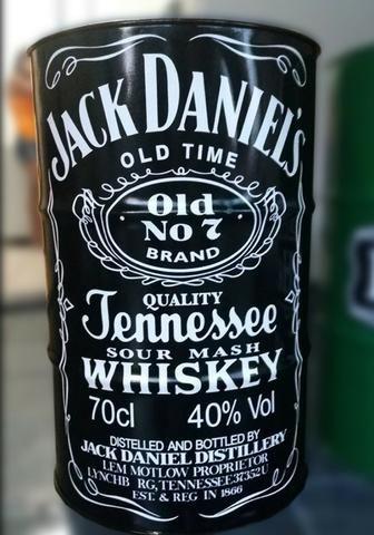 Tambor Barril Tonel Decorativo Jack Daniel's x 12x R$ 25,0 x Entrega Grátis x Garantia 3 - Foto 5