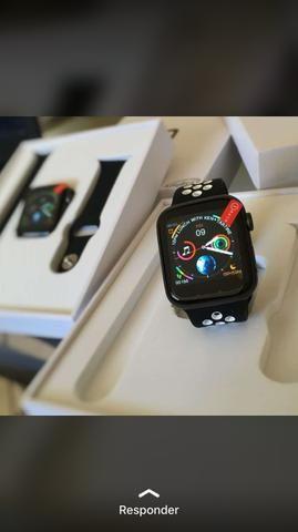 Relógio smart whatch IWO 8 serie 3 - Foto 2