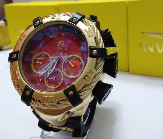 0005776e638 Relógio Esporte Fino Zeus Bolt a prova d água e funcional ...