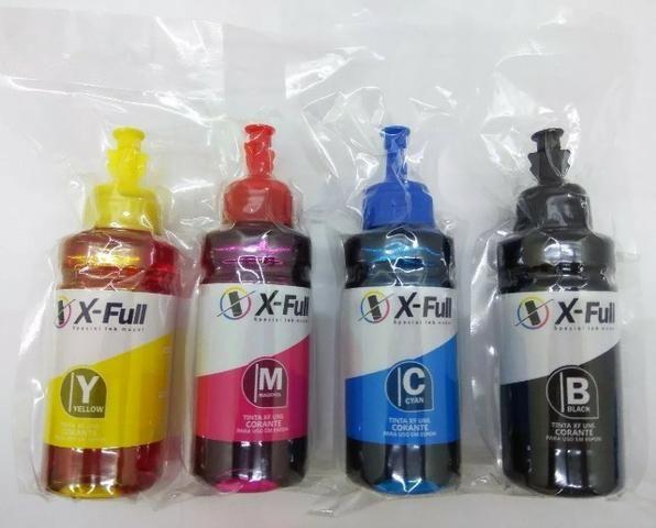 Tinta Epson XFull Tinta Epson XFull L100 L110/L120/L200/L210/L220/L300/L310/L350/L380/L35 - Foto 2