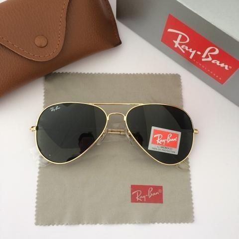 3c37112ad Óculos de sol ray ban aviador tradicional - Bijouterias, relógios e ...