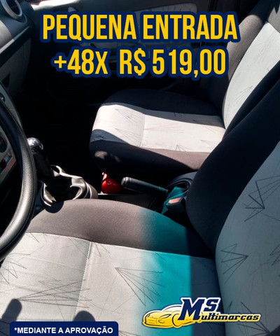 Fiesta 1.0 Flex 4P 2009 Completo - Foto 10