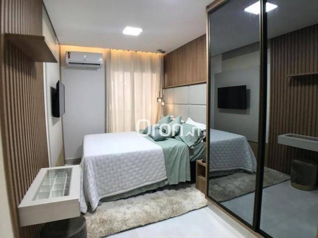 Apartamento com 2 dormitórios à venda, 59 m² por R$ 257.000,00 - Parque Amazônia - Goiânia - Foto 12