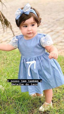 Vestidos novos e lindos! Vestem 1 ano! Apenas 59,90 à vista - Foto 3