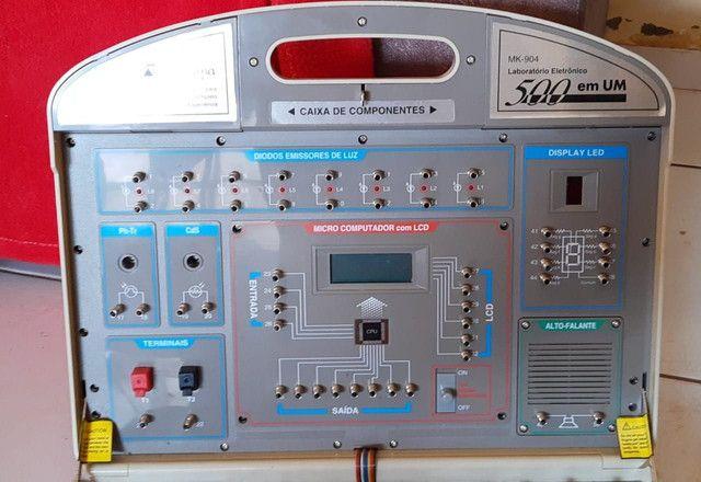 Kit eletrônica 500 em 1 Minipa MK-904 - Foto 5