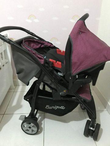 Carrinho + bebê conforto - Burigotto - Foto 4