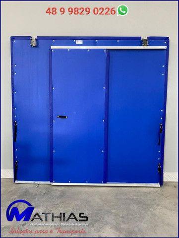 Divisoria movel para camaras refrigeradas Mathias Implementos - Foto 4