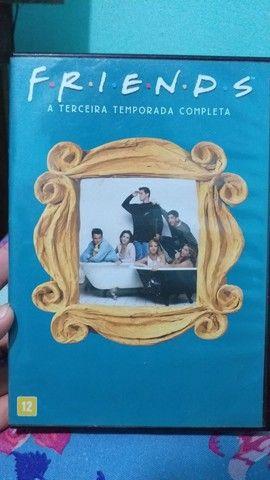 dvd 3 temporada completa friends